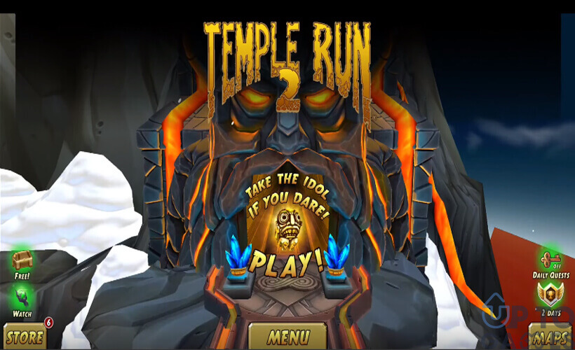 تحميل لعبة 2 Temple Run للكمبيوتر والموبايل برابط مباشر