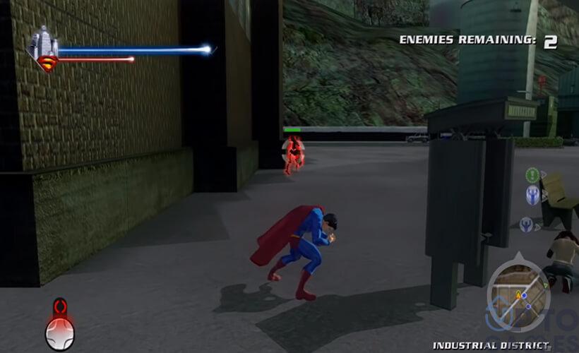 تحميل لعبة سوبر مان Super Man للكمبيوتر من ميديا فاير