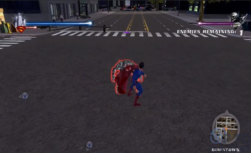 تحميل لعبة سوبر مان Super Man للكمبيوتر بحجم صغير