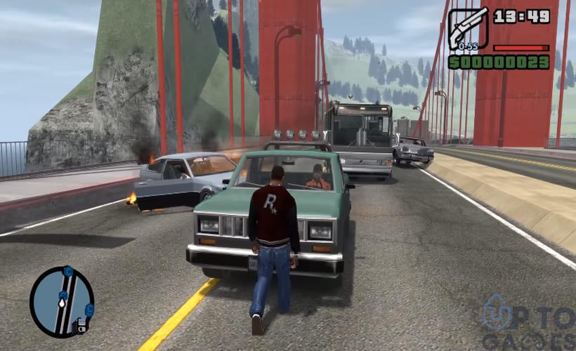 تحميل لعبة GTA IV: San Andreas للكمبيوتر برابط مباشر وحجم صغير