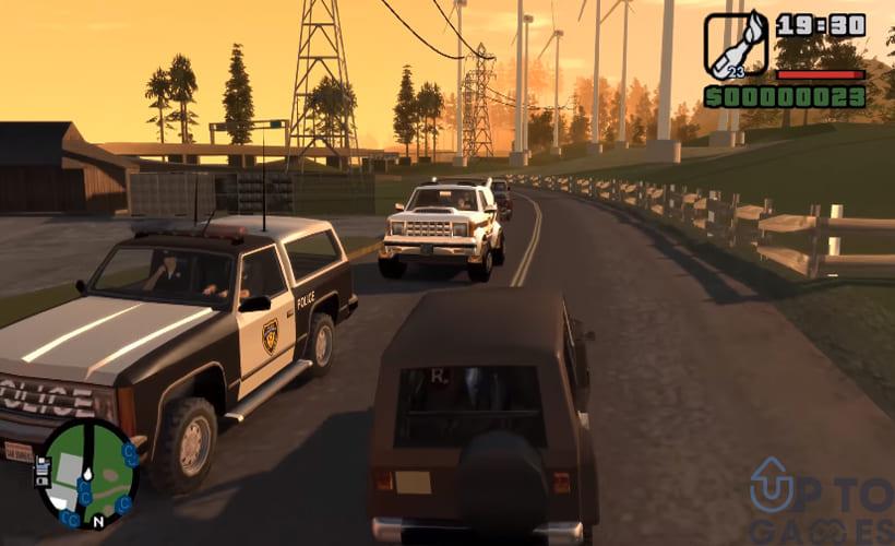 تحميل لعبة GTA IV: San Andreas للكمبيوتر بحجم صغير