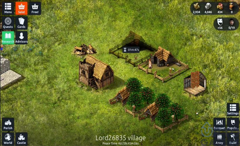 تحميل لعبة Stronghold Kingdoms للكمبيوتر مجانا