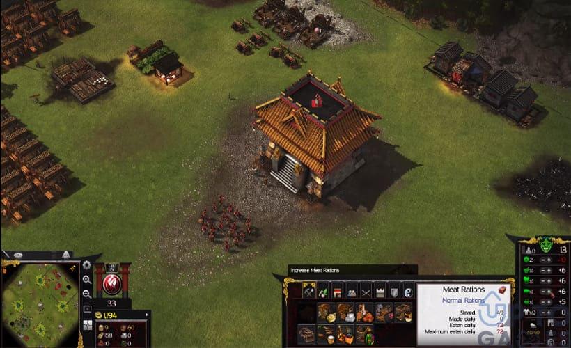 تحميل لعبة سترونج هولد أمراء الحرب Stronghold Warlords للكمبيوتر