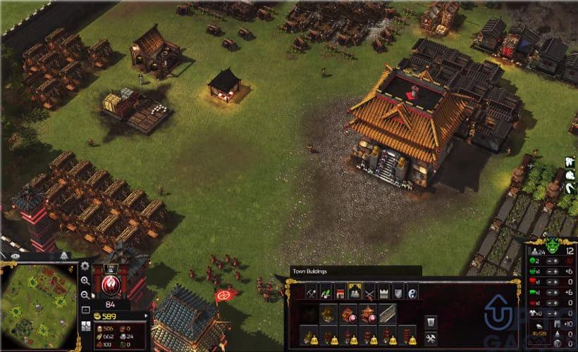 تحميل لعبة سترونج هولد Stronghold Warlords للكمبيوتر برابط مباشر