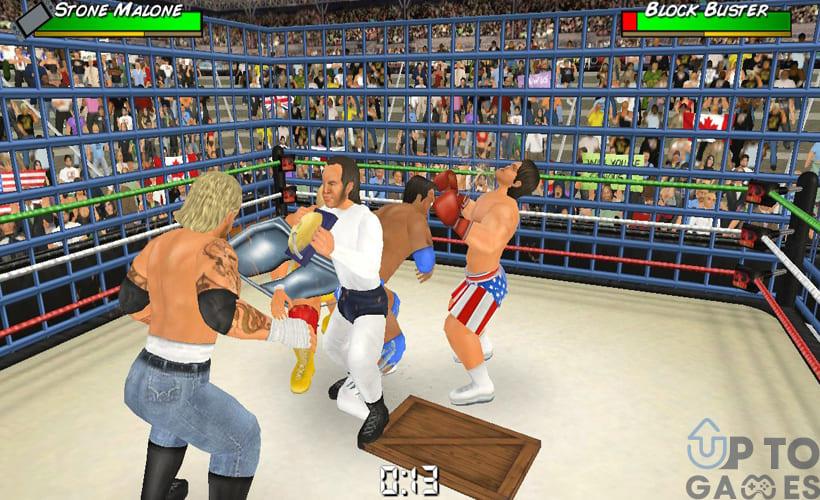 تحميل لعبة Wrestling MPire WWE 13 للكمبيوتر