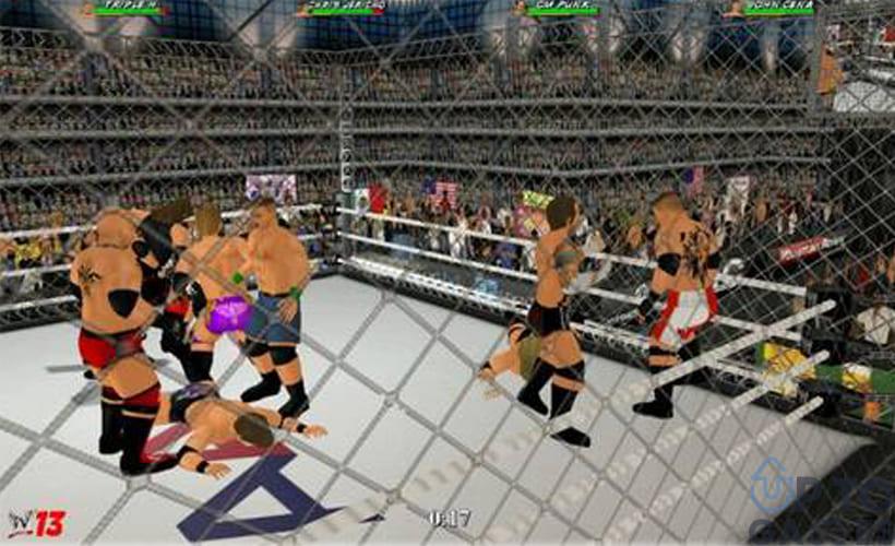 تحميل لعبة Wrestling MPire WWE 13 للكمبيوتر برابط مباشر من ميديا فاير